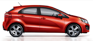 2013 Kia Rio 5-Door Red