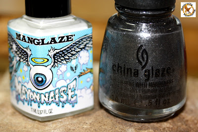 Hunger Games Nails - District Two polish bottle shot