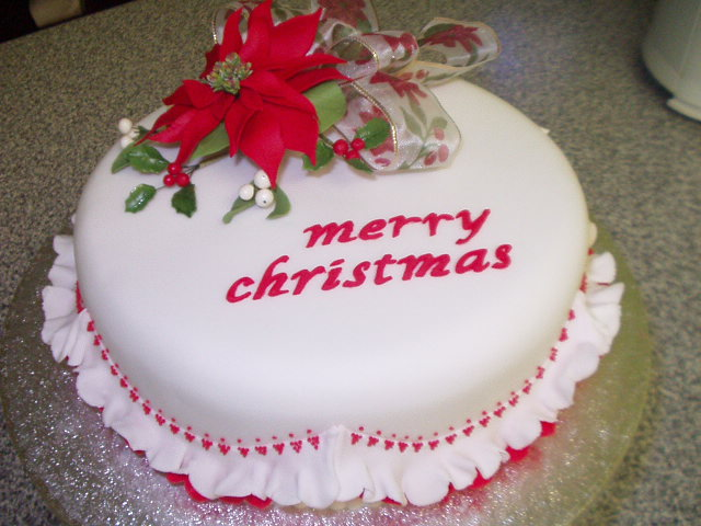 images of christmas cake - photo #28