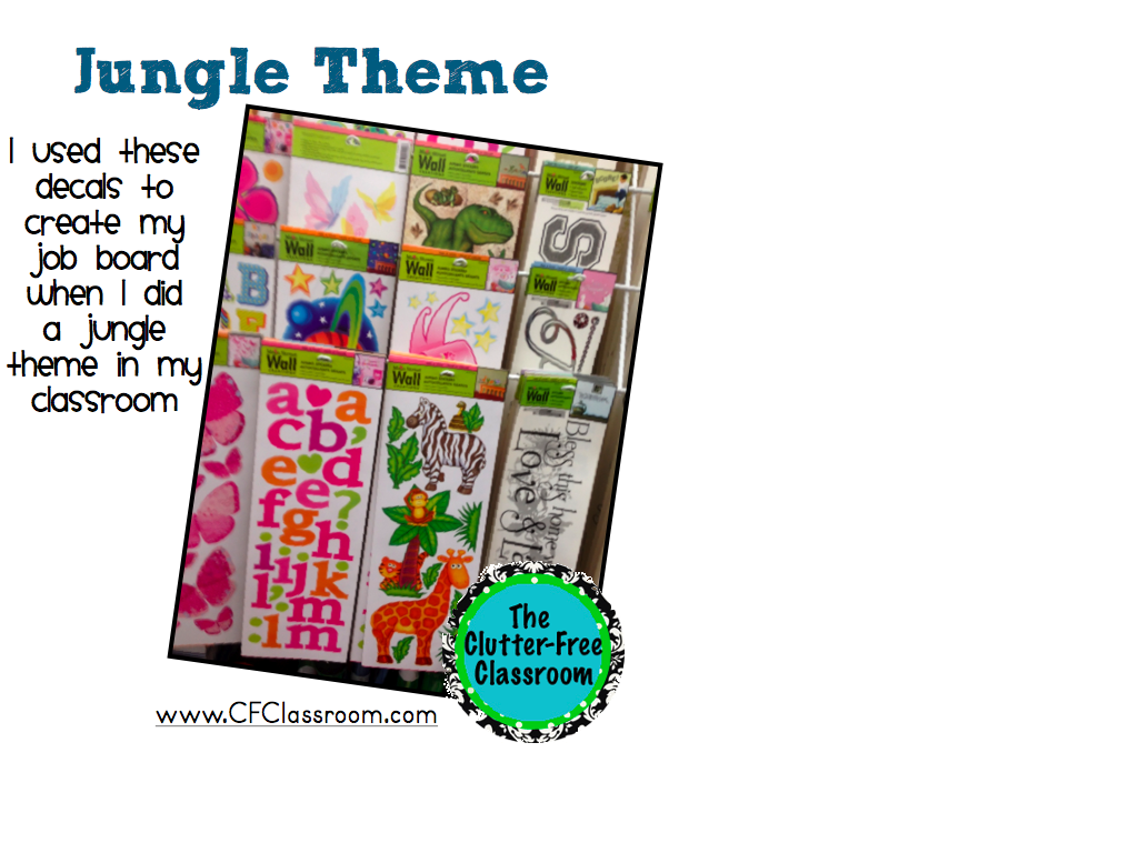 Classroom Decor Dollar Tree ~ Classroom themes on a budget tips ideas clutter free