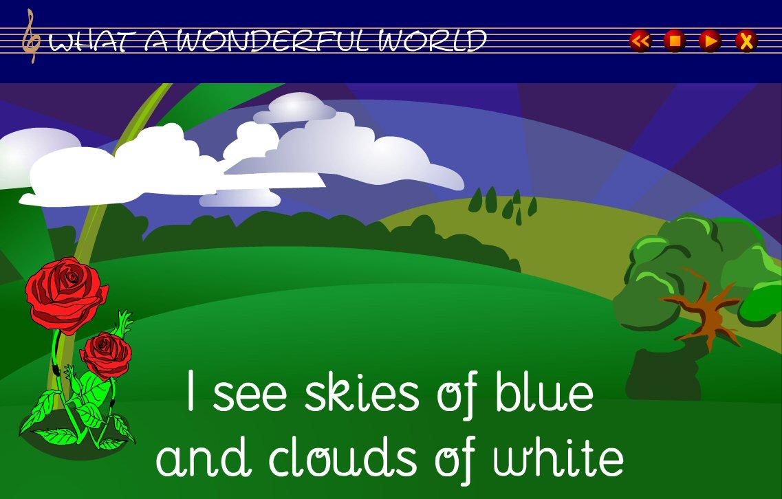 HELLOUNKINA: WHAT A WONDERFUL WORLD!