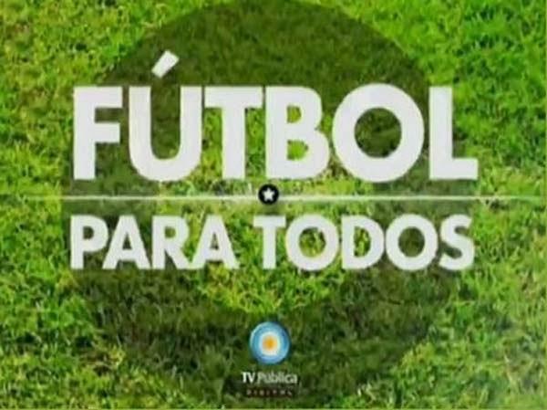 FUTBOL PARA TODOS NACIONAL Y POPULAR!!!