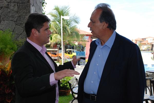 Arlei conversa com Vice-Governador Pezão sobre projetos para Teresópolis