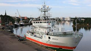 Tutkimusalus Aranda - Forskningsfartyget Aranda