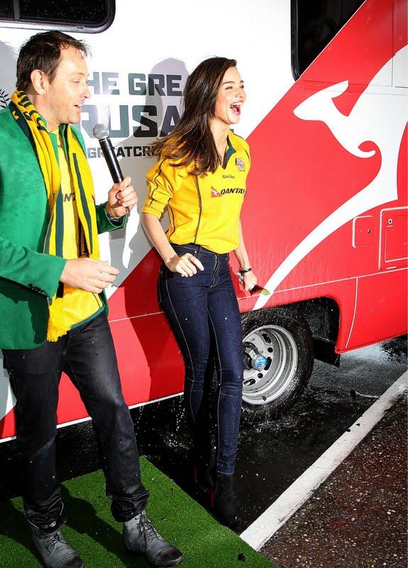 Miranda Kerr Helps Launch