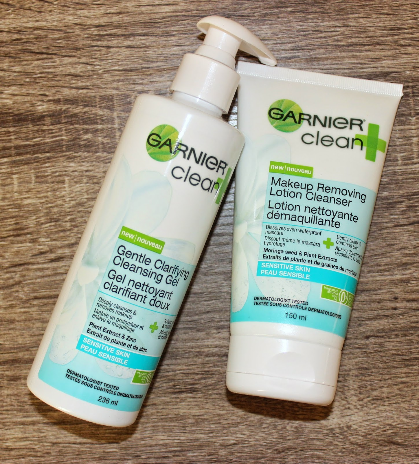 Garnier Clean+ Cleansers for Sensitive Skin