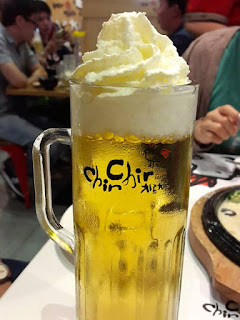 Whipped Cream Beer at Chir Chir Somerset 313