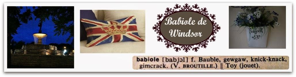 Babiole de Windsor