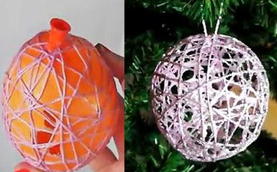 Como hacer manualidades para decorar la casa en navidad for Manualidades faciles para decorar la casa