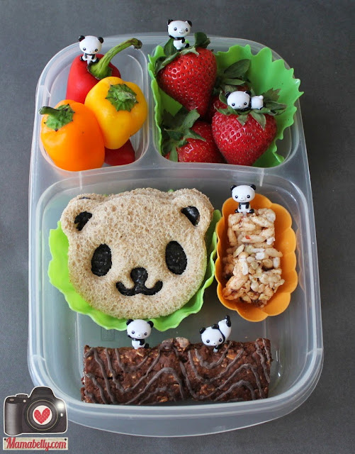 mamabelly 39 s lunches with love starter bento lunch kit. Black Bedroom Furniture Sets. Home Design Ideas