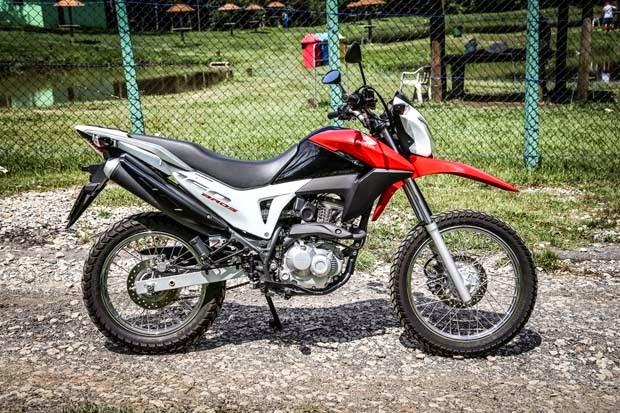 Duel New Honda Bros 160 VS Yamaha Crosser 150