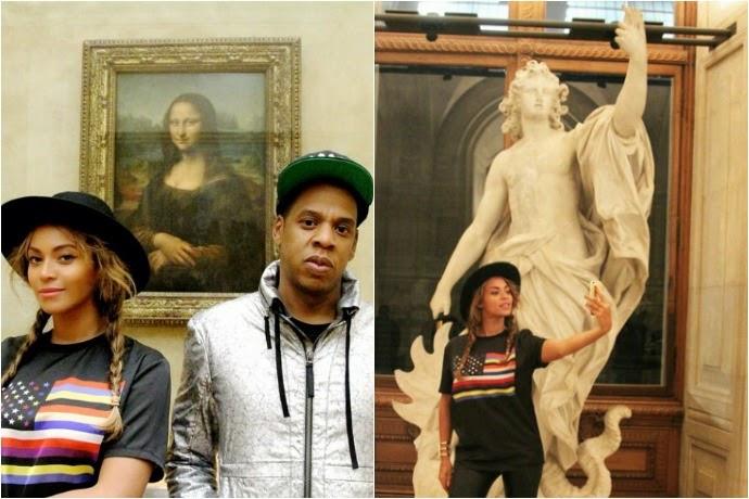 Art Mona Lisa Beyonce Jay Z