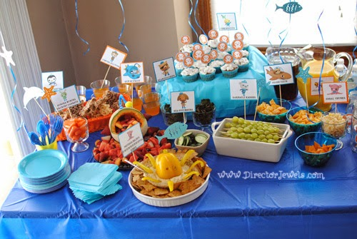 Director Jewels Octonauts Party Food Signs Free Printable