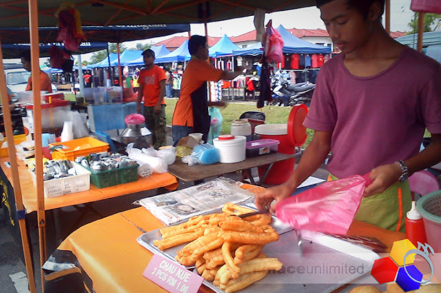mknace unlimited™ | Pasar tani taman nusantara suasana