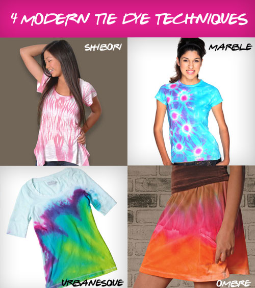 Ilovetocreate blog 4 modern and unique tie dye techniques - Technique tie and dye ...