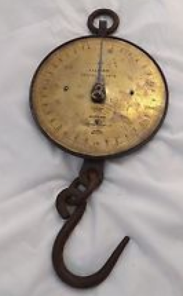 Salter's Spring Balance Scale
