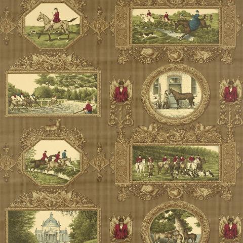 Wonen decoreren april 2012 - Ralph lauren wallpaper ...