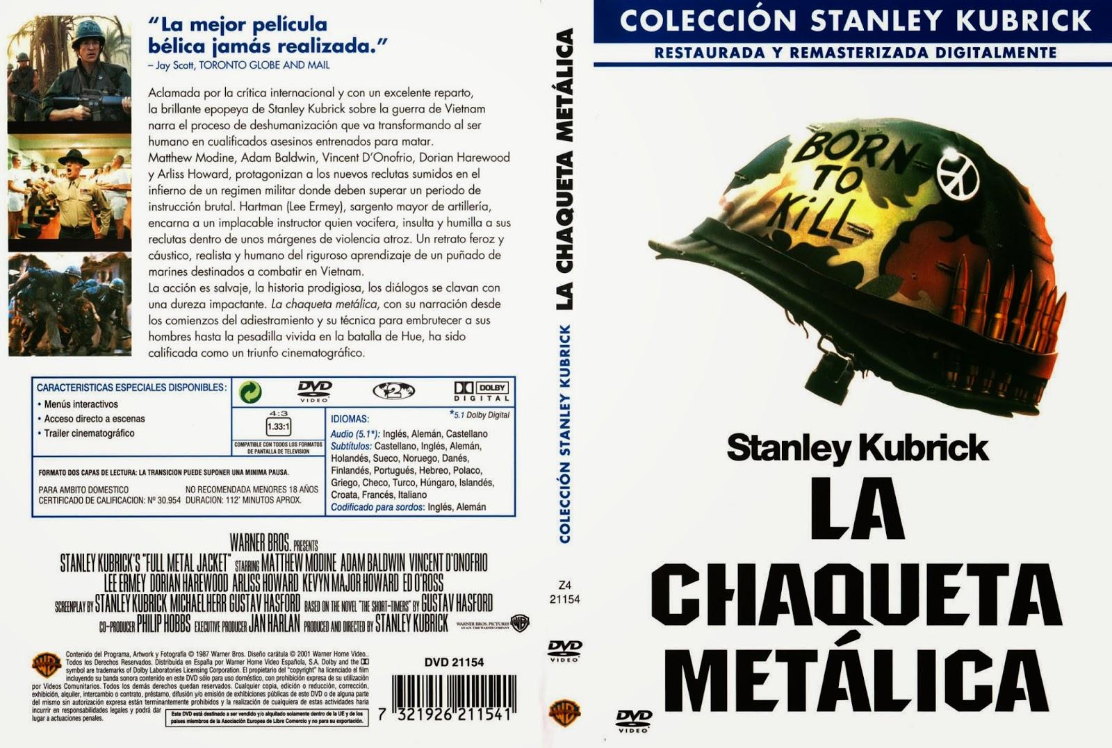 La Chaqueta Metalica DVD