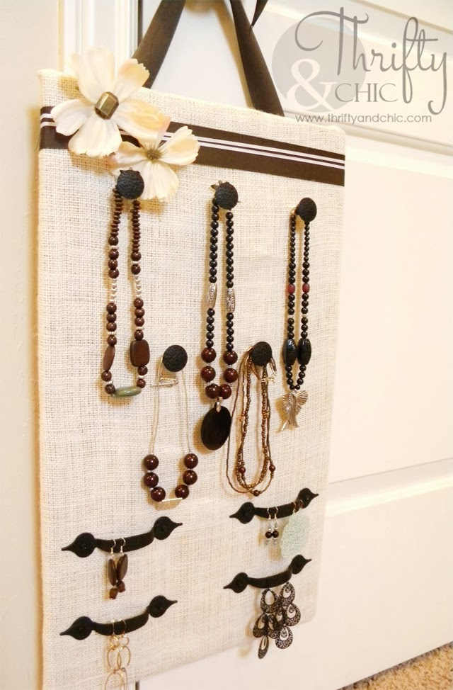 Drawer Pull Jewelry Organizer