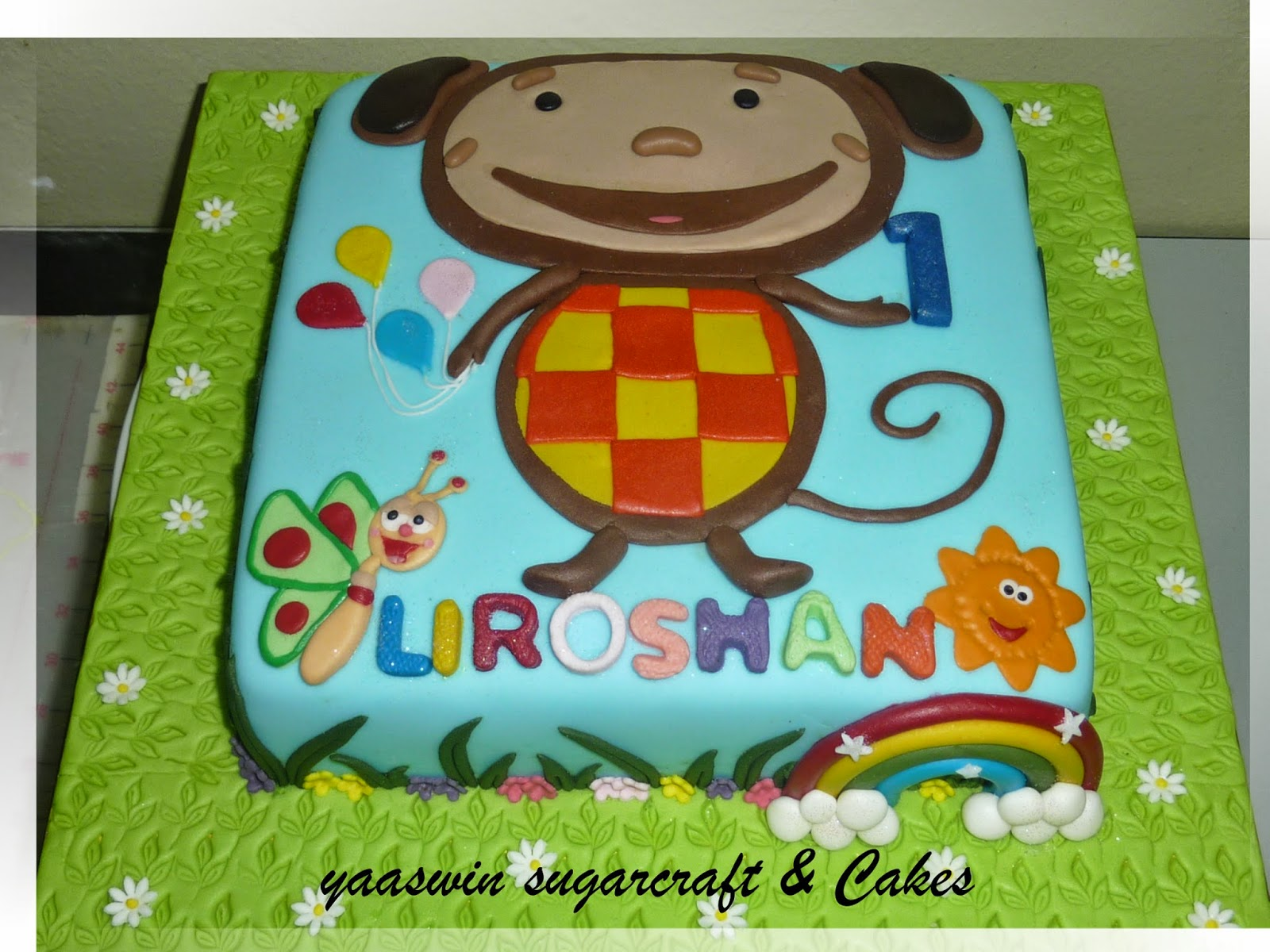 Cake Tv Show Crafts : Yaaswin Sugarcraft & Cakes: Oliver Baby Tv Themed ...