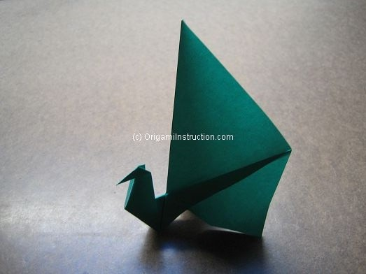 Learn To Fold This Beautiful Paper Folding Peacock Check Out The Origami Instructions