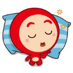 emoticones de peluche durmiendo