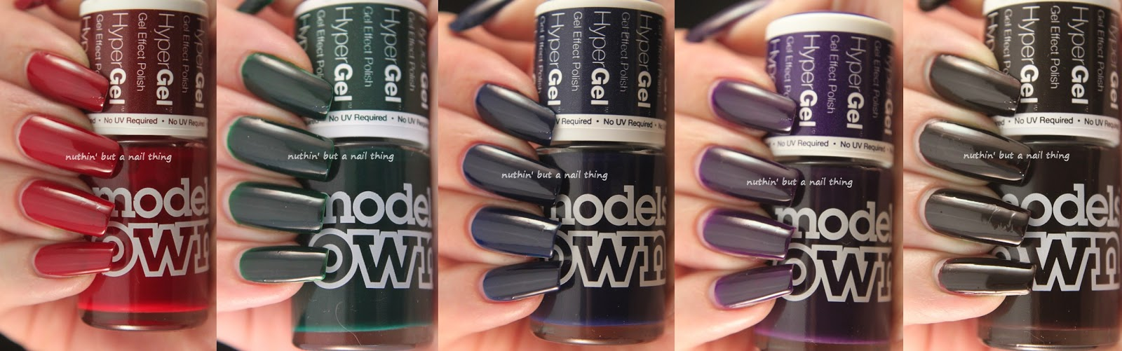 NEW! Models Own HyperGel - New Autumnal Shades!