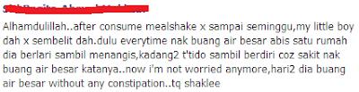 testimonial mealshake