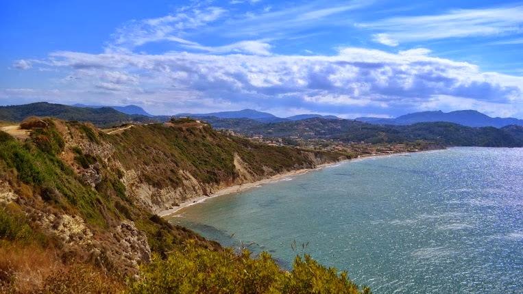 Wandern im Nordwesten der Insel Korfu