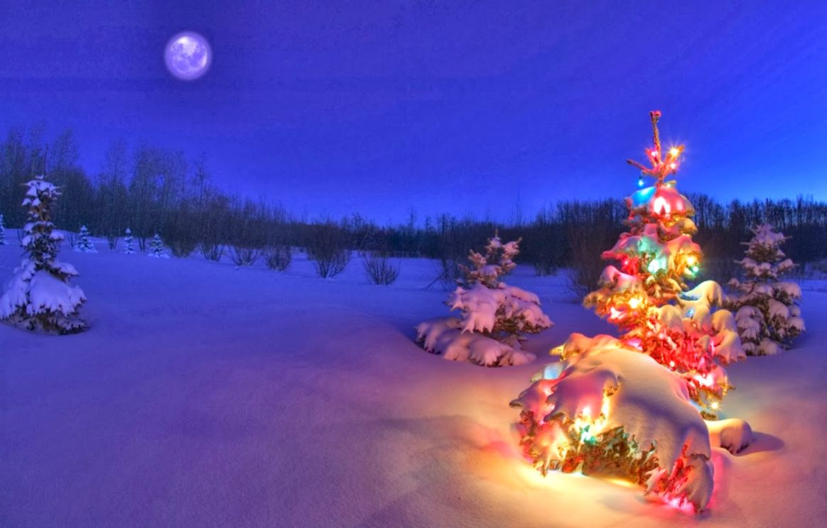 background christmas scenes wallpaper | image wallpapers hd