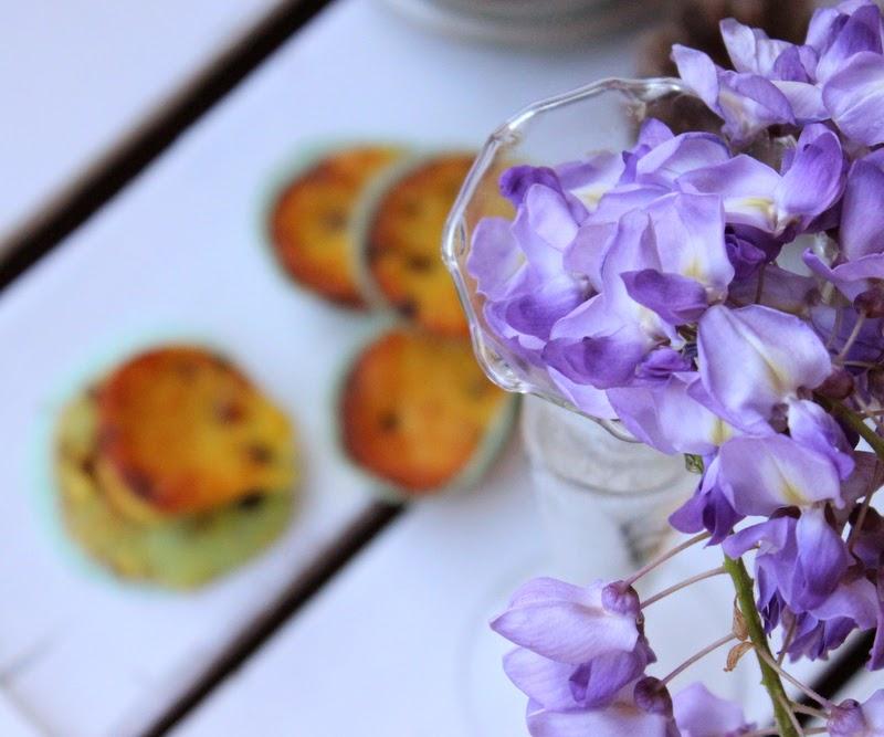 muffin alla ricotta e gocce di cioccolato