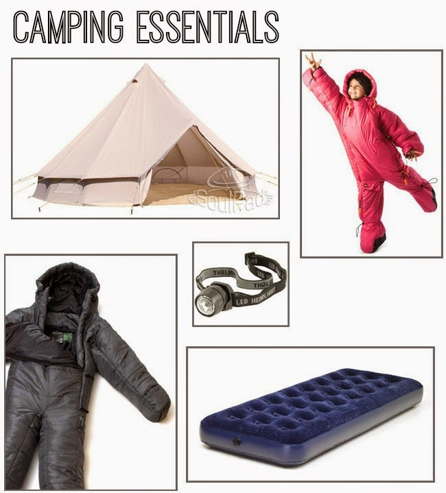 Festival Camping Essentials