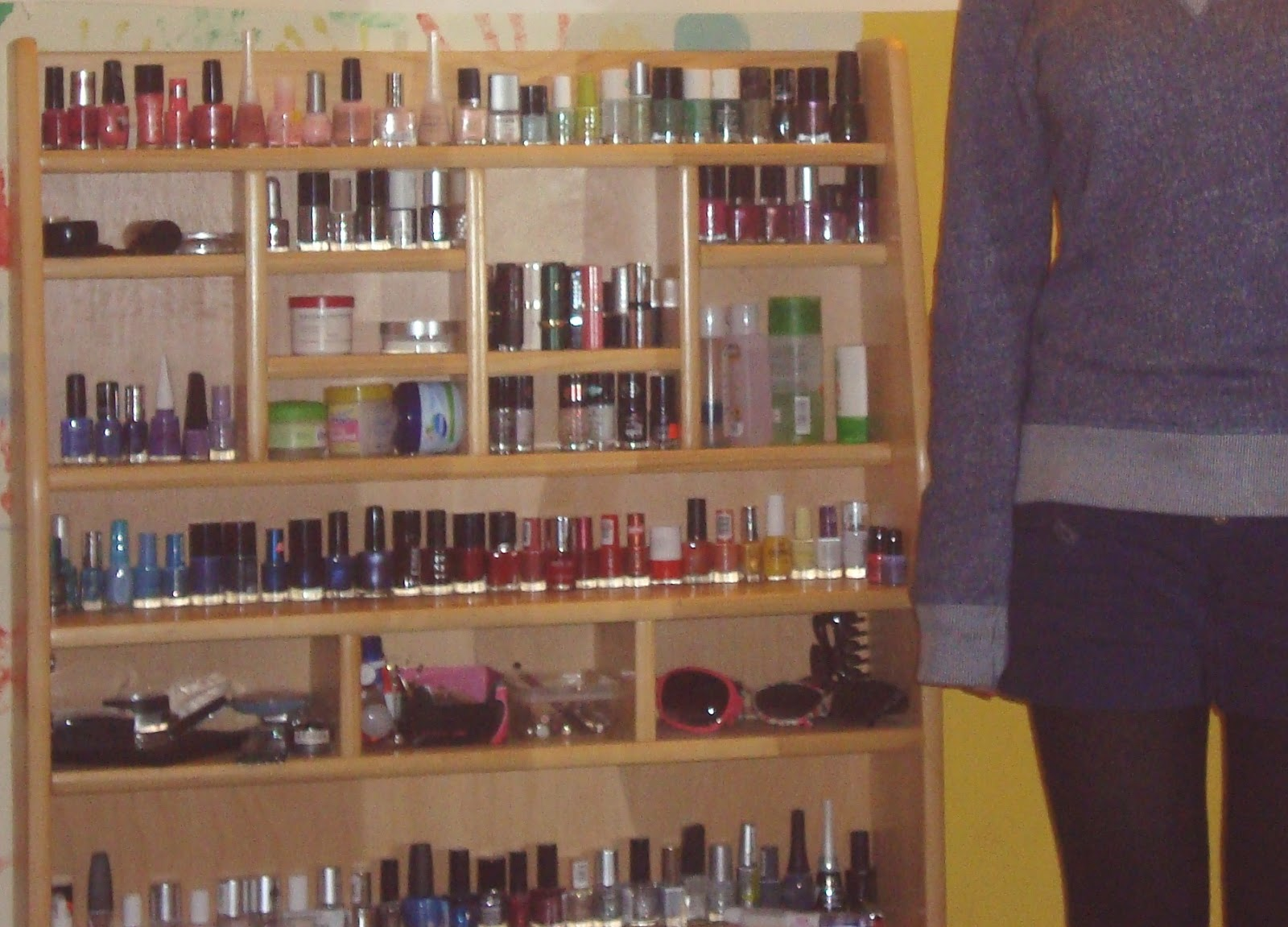 xoxo: nagellack - aufbewahrung - kaufladen :3