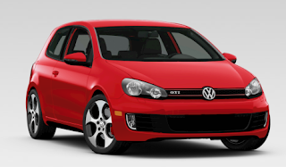 2013 Volkswagen Golf GTI Red