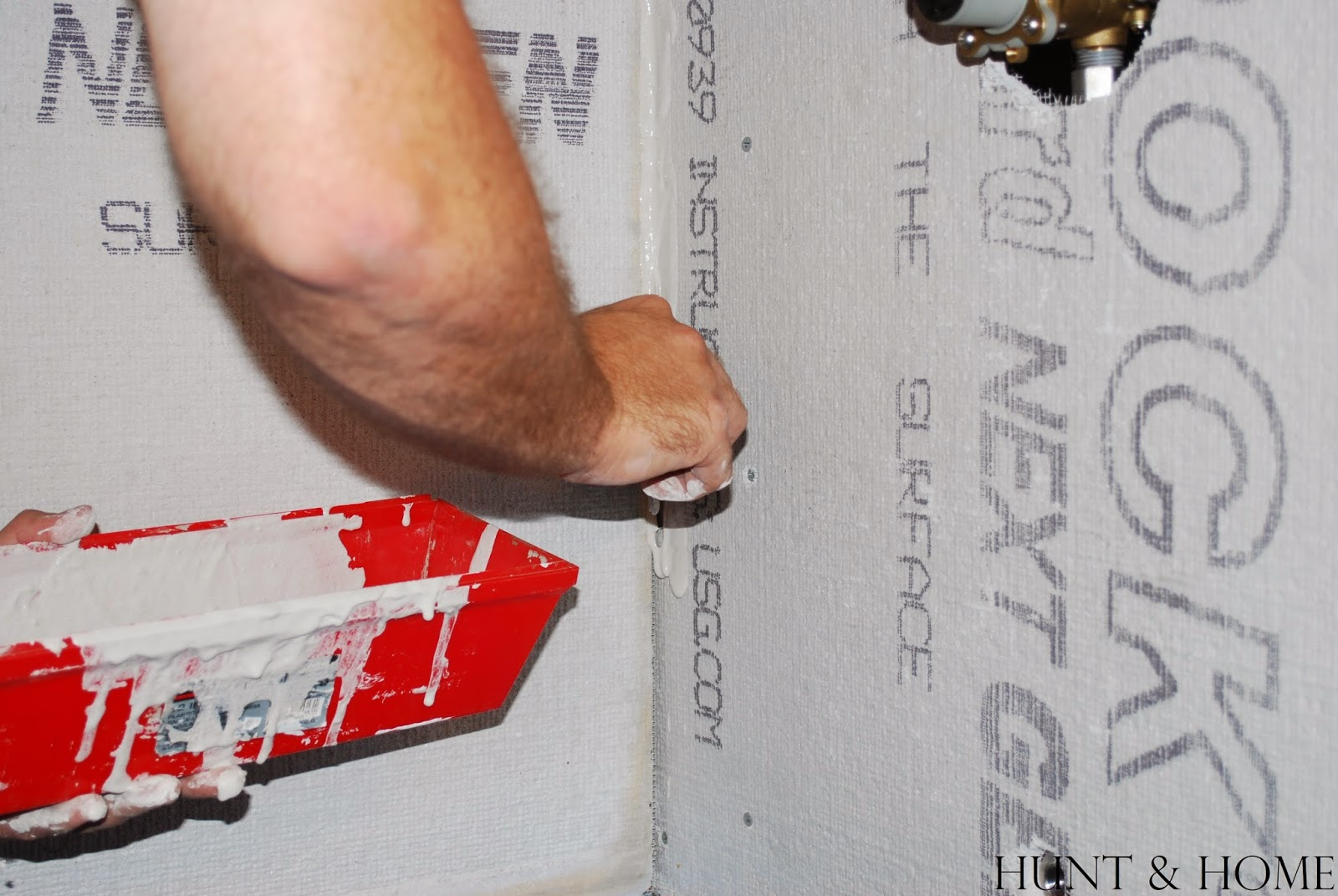 how to waterproof seams with kerdi tape