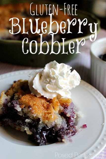 Gluten-Free Blueberry Cobbler- Top 10 Recipes of 2014