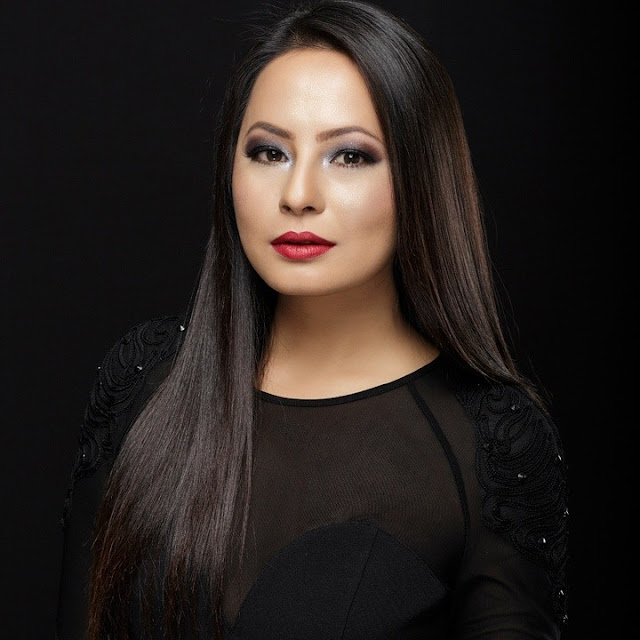 Malvika Subba endorsing American Brand NYX Cosmetics