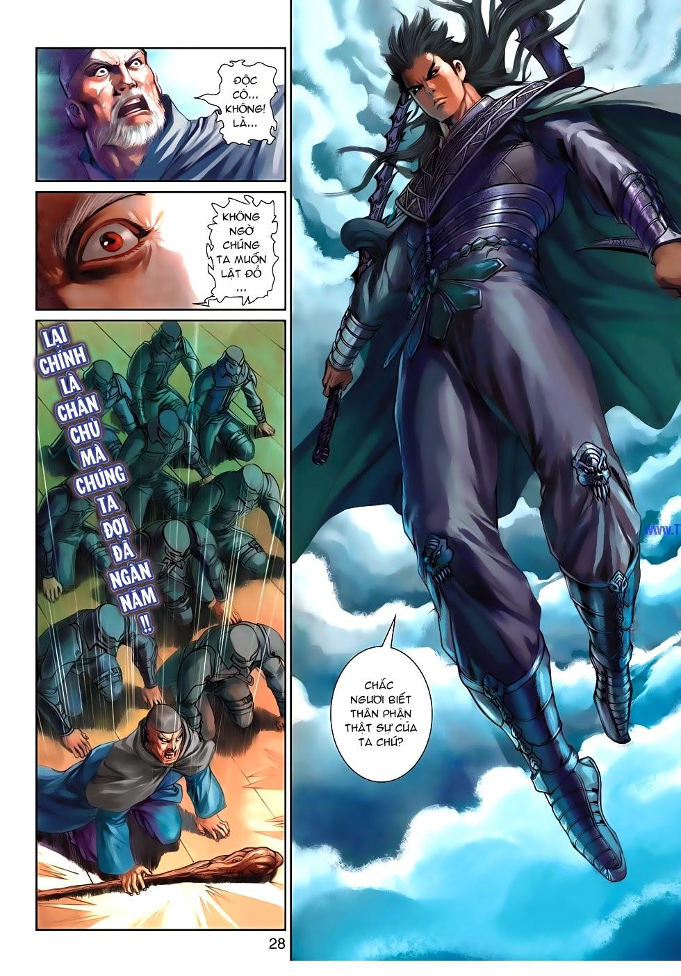 Thần Binh Tiền Truyện 4 - Huyền Thiên Tà Đế chap 10 - Trang 28