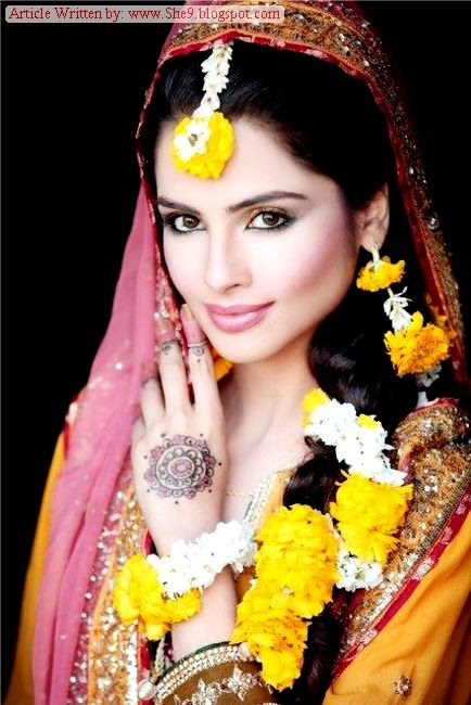 I Mehndi Hairstyles Dailymotion : Latest bridal hairstyles for mehndi function she