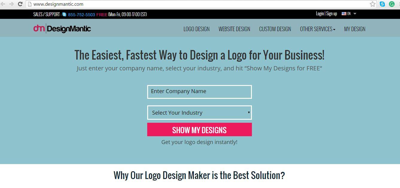 online logo designing 14 ultimate logo maker sites for designers