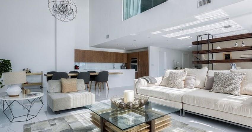 Mila Design. luxurious two level apartment in miami enhanced by ...