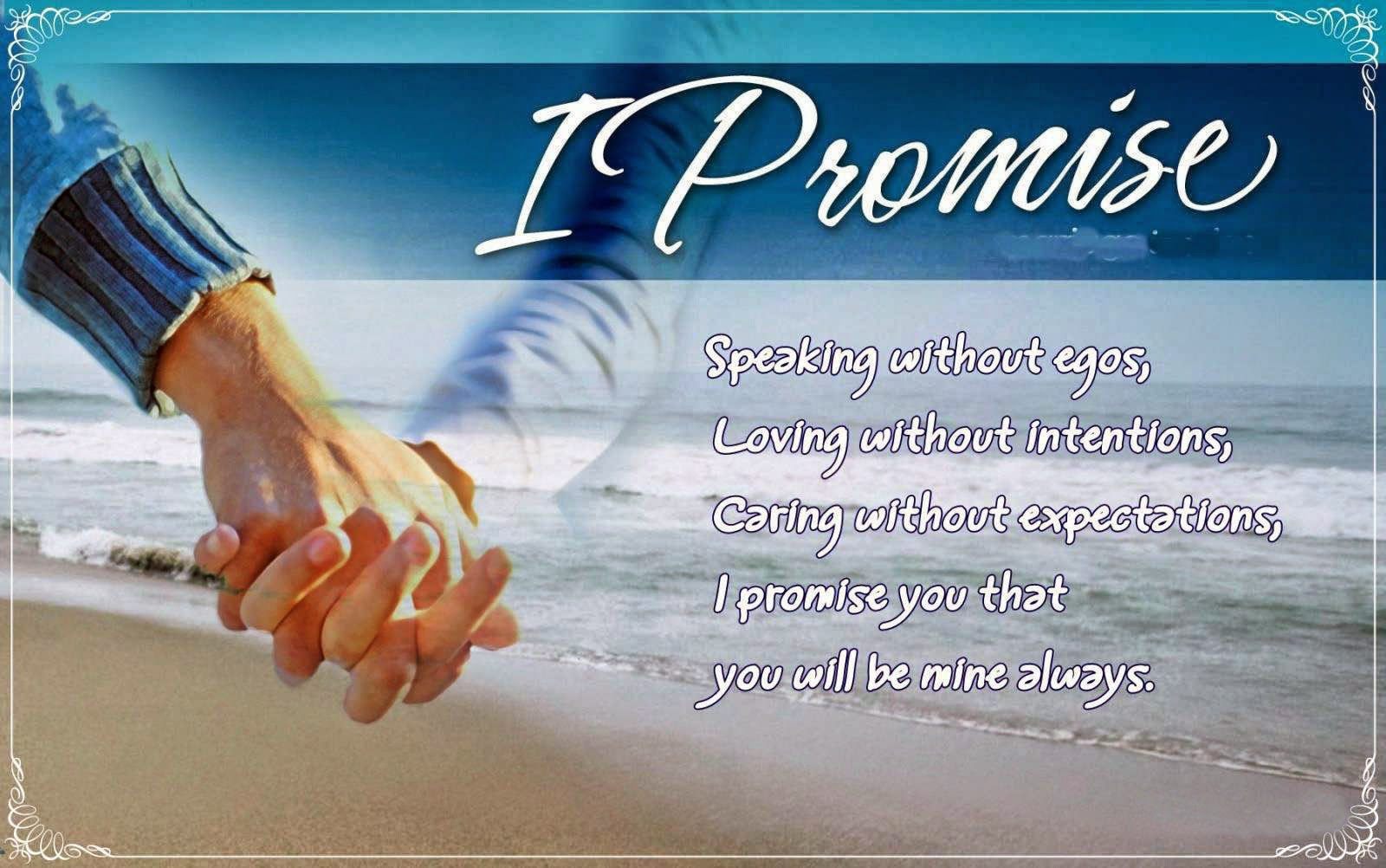 Happy Promise Day Free Wallpaper HD Download Pics