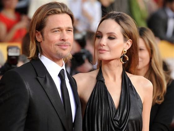 Brad Pitt is not happy over Angelina Jolie's link with a rape accused
