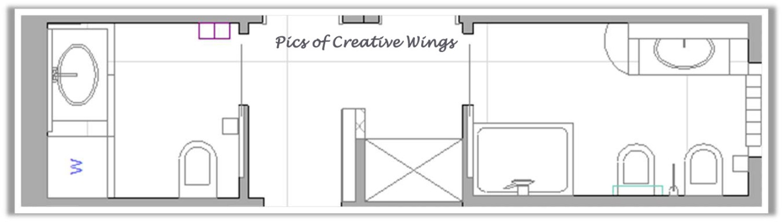 Pics of creative wings primo progetto a jesolo 3 - Bagno rettangolare progetto ...