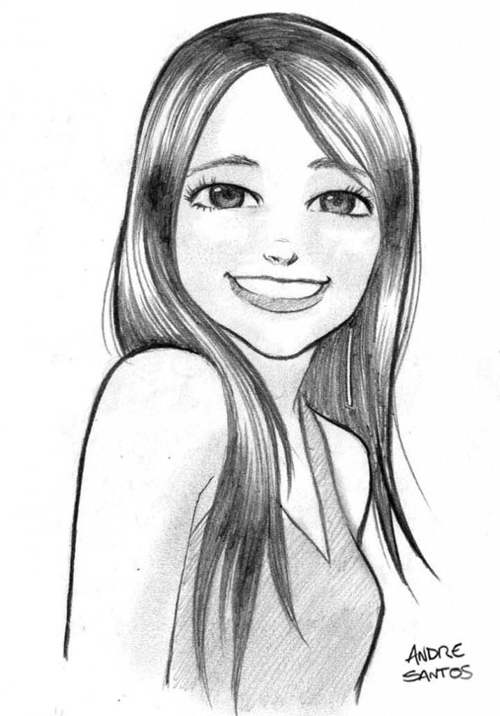 Veja aqui essa ótima coletânea de desenhos de meninas para imprimir
