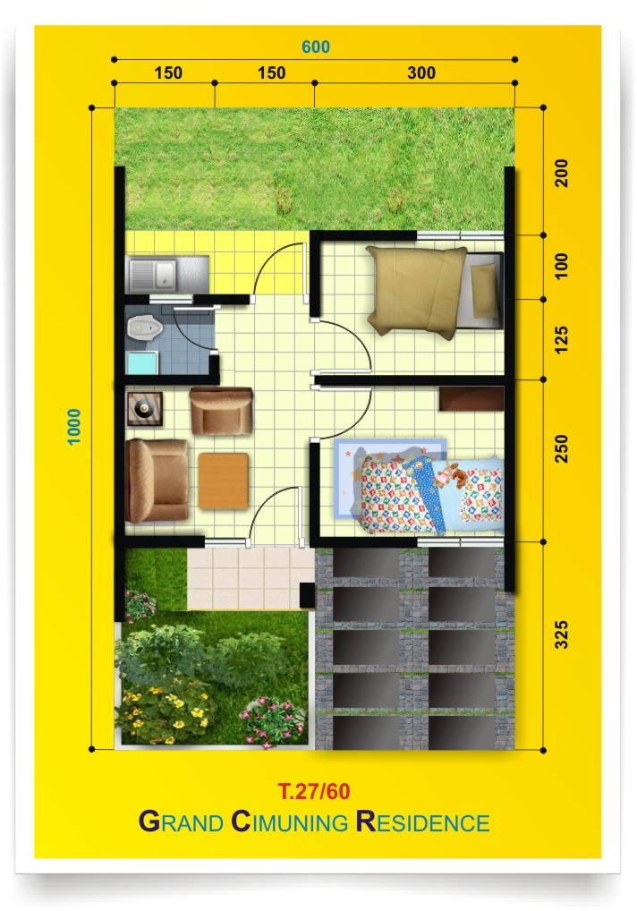 Grand Cimuning Residence Cluster Hijauna T 27 60