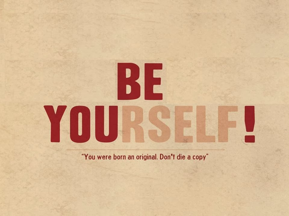 Be Yourself Inspirational Quotes PPT Download