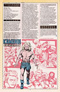 Kamandi (ficha dc comics)