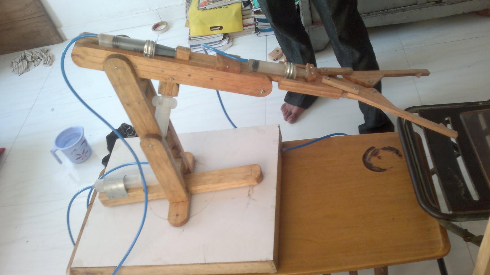 Hydraulic Arm Project : Hydraulic arm
