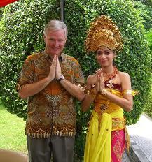 Balinese greetings, Om Swastiastu, rahajeng semeng, matur suksma, terimakasih